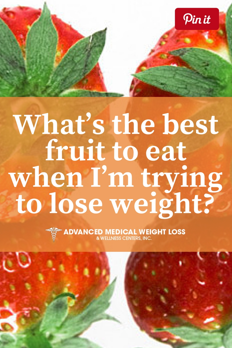 What's the best fruit to eat when I'm trying to lose weight?