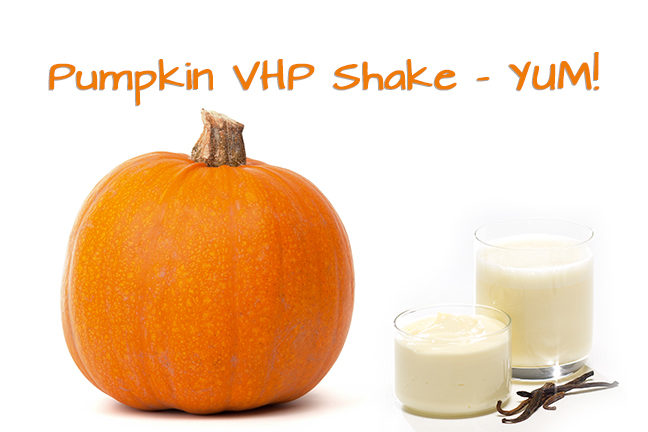 Recipe: Pumpkin VHP Shake